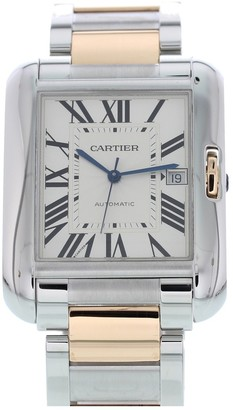 Cartier Tank Anglaise Anthracite gold and steel Watches