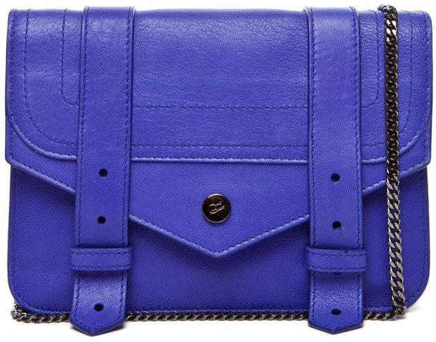 Proenza Schouler PS1 Large Chain Wallet in Purple Rain