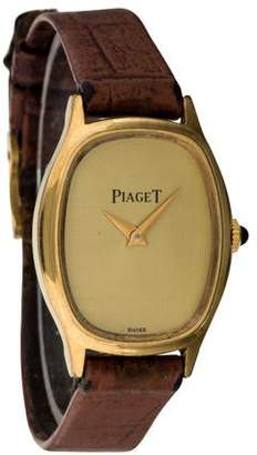 Piaget 18K Electroplated Watch