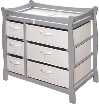 Badger Basket Changing Table $199.99 thestylecure.com