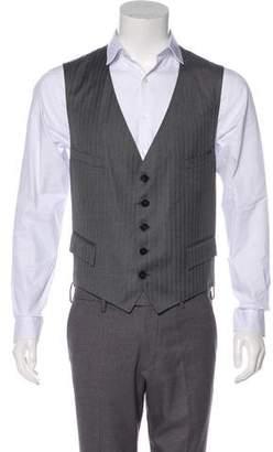 Gucci Wool & Silk Vest