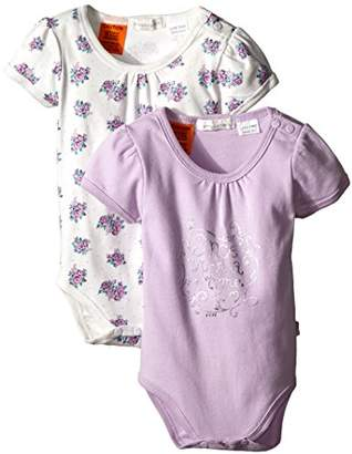 Pumpkin Patch Baby-Girls Bodysuit, 2PK,0-3 Months