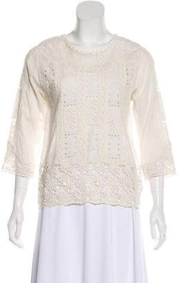 Zadig & Voltaire Lightweight Lace Blouse