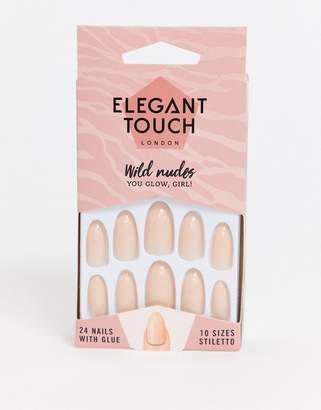 Elegant Touch Wild Nudes False Nails
