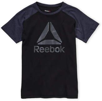 Reebok Boys 8-20) Color Block Logo Tee