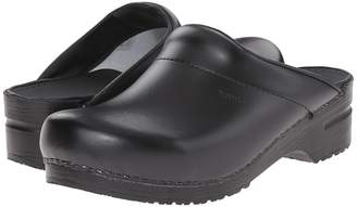 Sanita Original-Karl PU Open Men's Clog/Mule Shoes