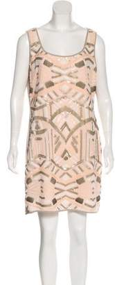Hale Bob Embellished Mini Dress