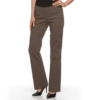 Apt. 9 Petite Brynn Pull-On Bootcut Dress Pants