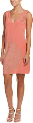 Trina Turk Glitteratti Silk Shift Dress