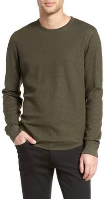 Vince Double Knit Long Sleeve Shirt