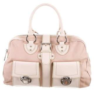 Marc Jacobs Leather-Trimmed Canvas Blake Bag