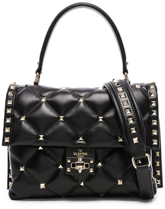 Valentino Candystud Top Handle Bag
