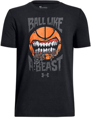 Under Armour Big Boys Ball Like A Beast Graphic T-Shirt