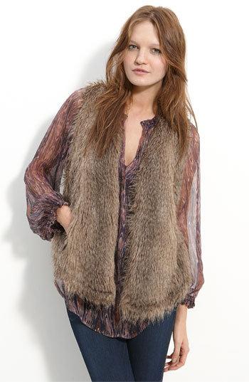 Ella Moss 'Arabella' Faux Fur Vest
