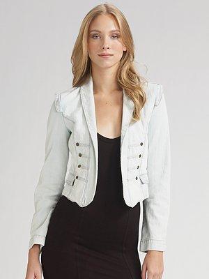 Current/Elliott Majorette Denim Jacket