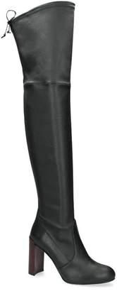 Stuart Weitzman Leather Carolyn Over-The-Knee Boots 95