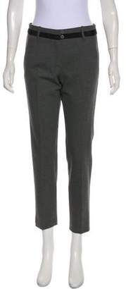 Pinko Mid-Rise Straight Pants
