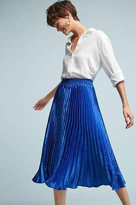 Anthropologie Gemma Pleated Skirt