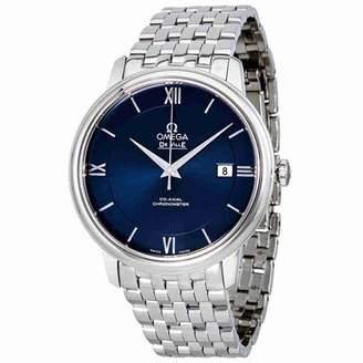 Omega De Ville Prestige Automatic Blue Dial Mens Watch 424.10.40.20.03.001