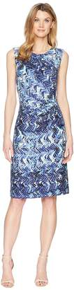 Nic+Zoe Seaside Tile Dress Women's Dress