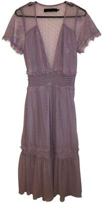 House Of Harlow Purple Lace Dress for Women