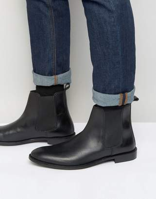 Asos Design Chelsea Boots in Leather