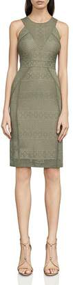 BCBGMAXAZRIA Dena Lace Sheath Dress