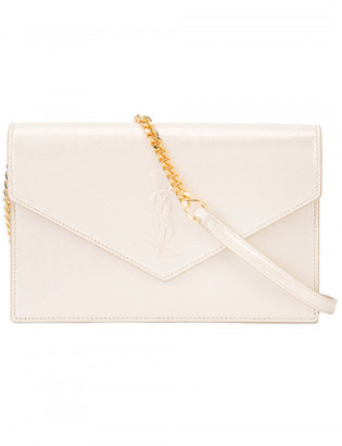Saint Laurent envelope clutch bag $995 thestylecure.com