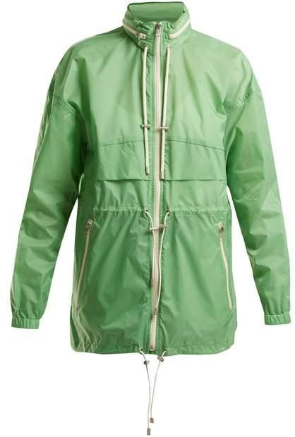 Cranden shell hooded jacket