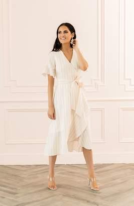 Rachel Parcell Ruffle Wrap Dress