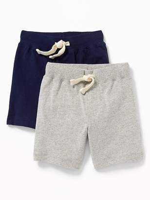 27a1813e334 Old Navy Functional Drawstring Jersey Shorts 2-Pack for Toddler Boys
