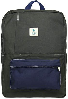 Esperos Schoolyard Cotton Canvas Backpack