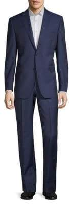 Saks Fifth Avenue Tailored Wool & Silk Suit