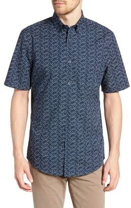 Nordstrom Regular Fit Non-Iron Sport Shirt