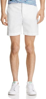 Orlebar Brown Cotton Linen Shorts $245 thestylecure.com