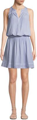 Ramy Brook Brynn Sleeveless Smock-Waist Dress