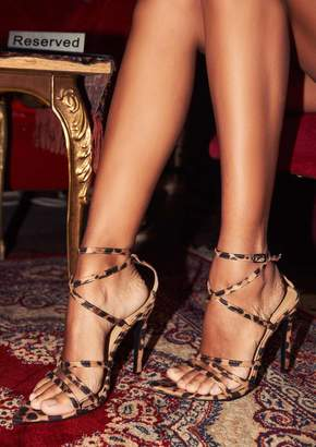 2a4db4f7184 Missy Empire Missyempire Janessa Leopard Print Pointed Strappy Heels