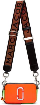 Marc Jacobs Orange Small Snapshot Camera Bag