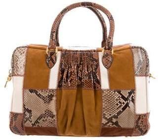 Miu Miu Python Patchwork Bag