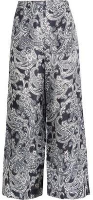 Acne Studios Tennessee Printed Satin-Twill Pants