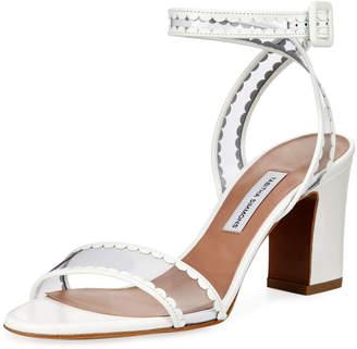 Tabitha Simmons Leticia Frill Block-Heel Sandal