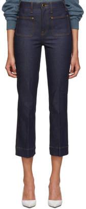 KHAITE Indigo The Raquel Jeans