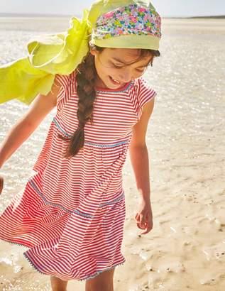 Boden Tiered Jersey Frill Dress