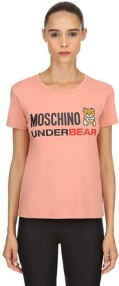 Moschino Underbear Cotton Jersey T-Shirt