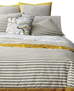 Draper Stripe 300 Thread Count Cotton Duvet