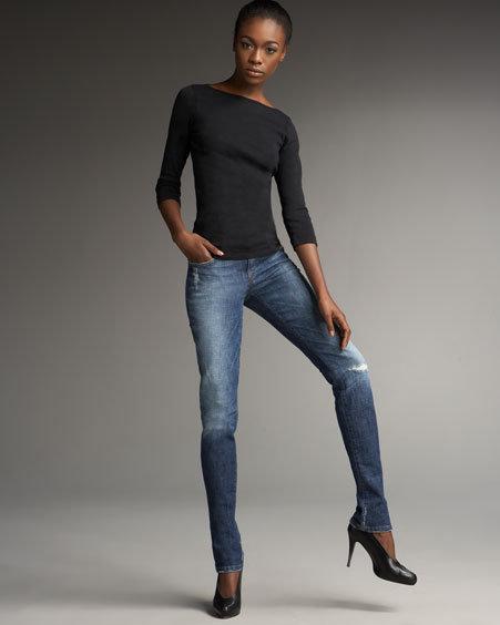 Joe's Jeans Chelsea Phoebe Distressed Skinny Jeans