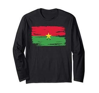 Burkina Faso Burkinabe Flag Longsleeve Pullover