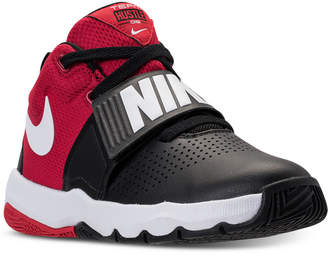 Nike Boys' Team Hustle D8 Basketball Sneakers from Finish Line $59.99 thestylecure.com