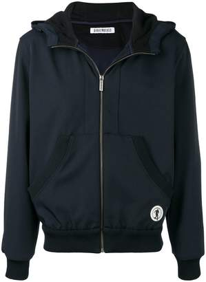Dirk Bikkembergs zipped hooded jacket