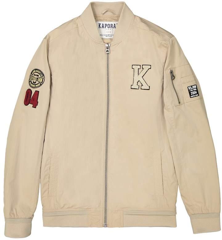5 Loose Boyfriend Fit Zipped Jacket